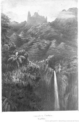 Cascade de la Fautaua, Tahiti – Pierre Loti (1872)