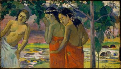 Trois Tahitiennes – Paul Gauguin (1896)