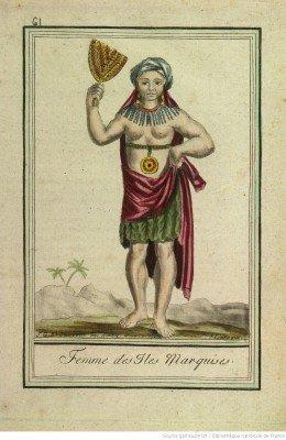Femme des isles Marquises (1796)