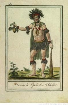 Homme de l'isle de Sainte Christine – Tahuata (1796)
