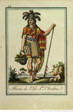 Femme de l'isle Sainte Christine – Tahuata (1796)