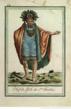 Chef de l'isle de Sainte Christine – Tahuata (1796)