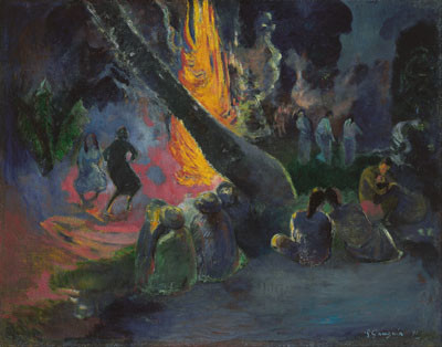 Upa upa – Paul Gauguin (1891)