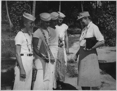 Eleanor Roosevelt à Bora Bora (1943)