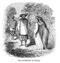 Scène des îles de la Société – (1870)