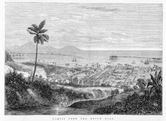 Tahiti from the broom road (1867)