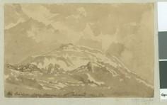 Le Diadème depuis l'entrée est de Papeete (1854)