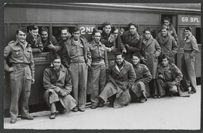 Force combattante de Tahiti et de Nouvelle Calédonie arrivant à Melbourne (1940)
