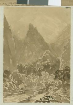"""""""Pain de sucre"""" de la Fautaua (1854)"""