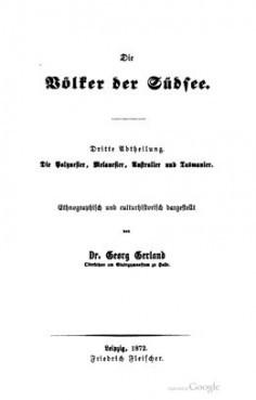 Les peuples des mers du sud (1872)