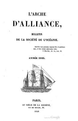 Émigration et colonisation des missions de l'Océanie (1849)