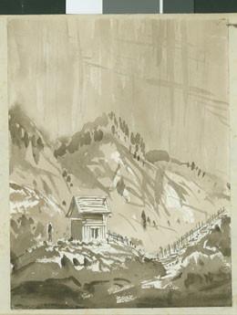 Fort de la Fautaua à Tahiti (1854)