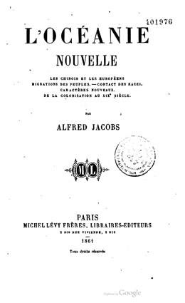 L'Océanie nouvelle (1861)