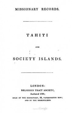 Missionary records – Tahiti and Society islands (1840)