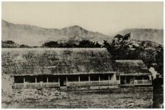 Case de la reine Pomare à Papeete (1859)