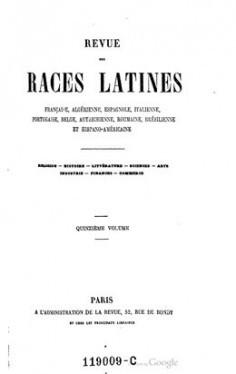 Revue des races latines – Colonies françaises (1859)