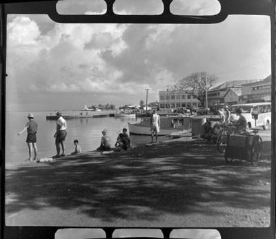 Front de mer de Papeete (1952)