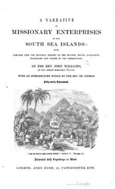 A narrative of missionary enterprises in the south sea islands (1837)
