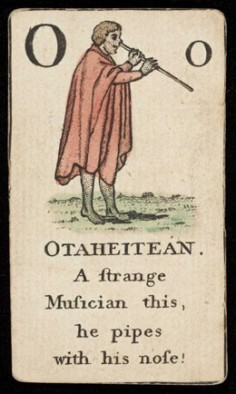 Tahitien jouant du vivo (1790)