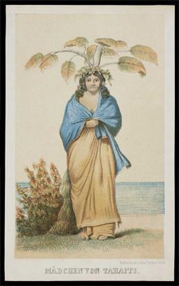 Jeune fille de Tahiti (1840)