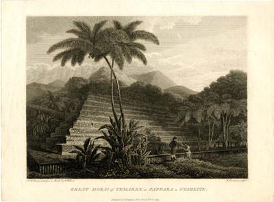 Grand marae de Papara à Tahiti (1799)