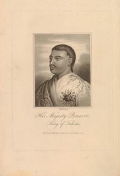 His Majesty Pomarrè, King of Taheite (1821)