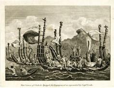 Pirogues de guerre de Tahiti (1817 ?)