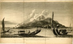 The island of Otahiete bearing S.E. distant one League (1777)