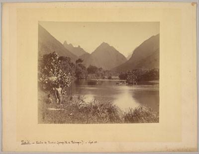 Tahiti – Rivière de Tautira (1888)