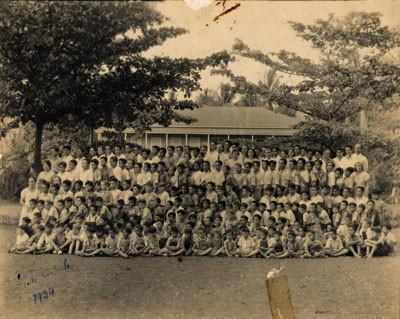 Les élèves de l'Ecole centrale (1934)