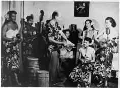 Eddie Lund, Fifi Mottet, Elvina Pomare, Sarah Dexter, Phylis Brooks, Marcelle Goupil & Madeleine (1952)