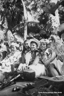 "Tournage de ""Tendre voyou"" (1966)"