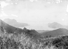 Baie Anna Maria à Nuku Hiva (1884)