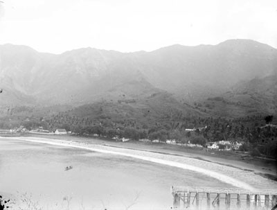 Nuku Hiva, la résidence du gouverneur (1884)