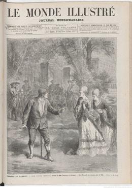 Tahiti et la reine Pomaré – Le Monde illustré du 15 décembre 1877