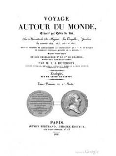 Voyage autour du monde, sur la corvette de Sa Majesté, La Coquille – Tome 1er – 2ème partie (1828)