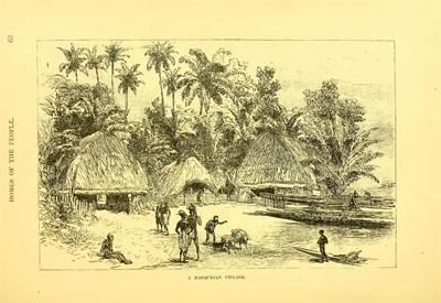 A marquesan village (1889)