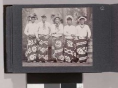 Portrait de 5 Tahitiens – Collection Jack London (1905)