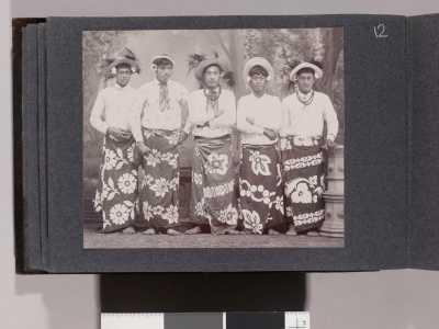 Portrait de 5 Tahitiens – Collection Jack London (1905)