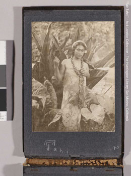 Jeune femme tahitienne en paréo – Collection Jack London (1905)