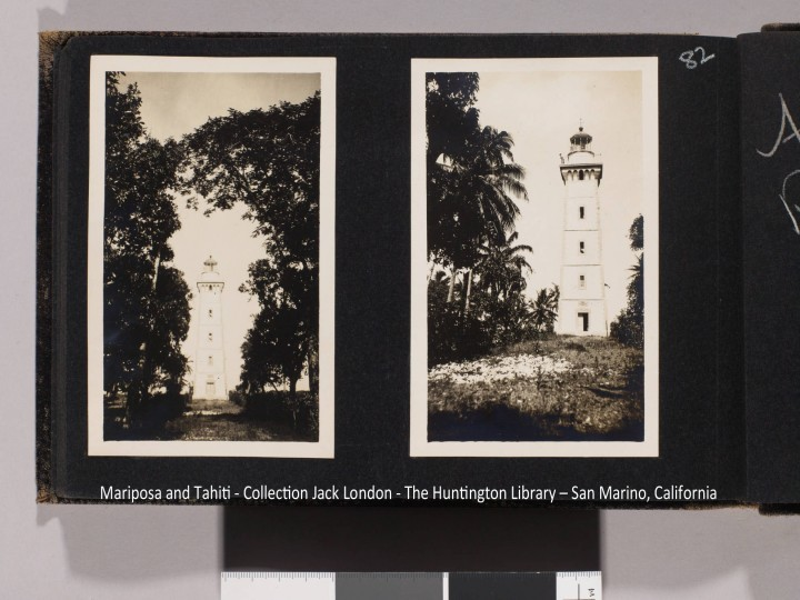 Phare de la Pointe Vénus – Collection Jack London (1908)