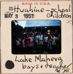 Ecole de Maeva à Huahine (1957)