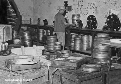 Salle des films de la SATEC (1960)