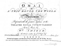 Omai or A Trip round the World. A Pantomime …