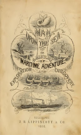 Man upon the sea (1858)