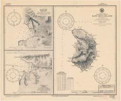 Carte nautique de Fatu Hiva (1899)