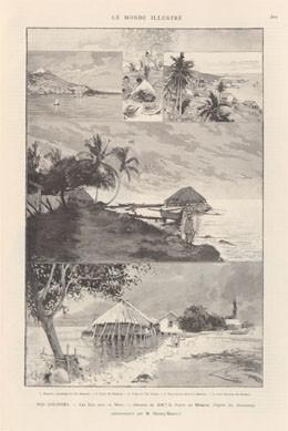 Nos gravures : les îles Sous-le-Vent de Tahiti