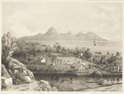 Maison de la Reine Pomare à Papeete (1851)