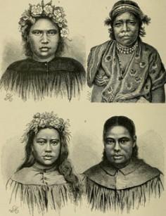 Portraits de femmes polynésiennes (1896)
