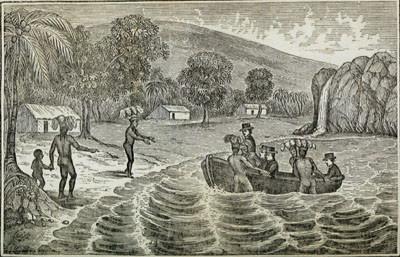William Torrey prisonnier de cannibales marquisiens (1848)